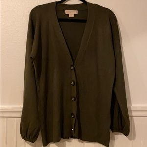 Michael KORS 🍁🍂 Cardigan Sweater L